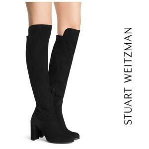Gorgeous Chic Suede Stuart Weitzman OTK Boots